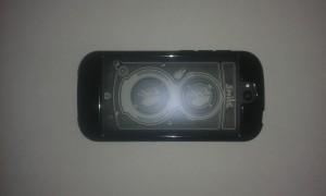 yotaphone и второй экран во время съемки
