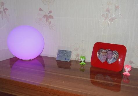 автономный LED шар
